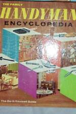 12 SECTION HANDYMAN ENCYCLOPEDIA DIY BOOK 1965 EDITION
