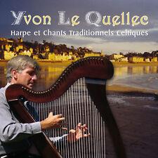 CD Yvon Le Quellec Harpe chants traditionnels celtiques