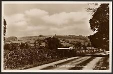 More details for worcestershire - broadway - fish hill - vintage real photo postcard