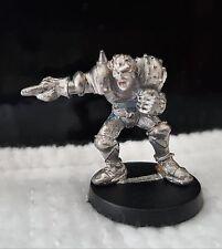 Citadel Warhammer Gamesworkshop BloodBowl 2nd Edición Lanzador humano Metal 1988