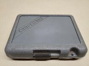 "Craftsman 1/4"" Drive Metric Socket Set, W/Case Vintage ''G1 Series"" Deepwell set"