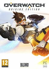 Overwatch Origins Edition PC DVD Disc Only New