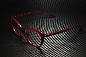 DOLCE & GABBANA DG5039 1551 Transp Bordeaux Demo Lens 52 mm Women's Eyeglasses