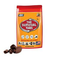 Emergency Food Protein Substitute Survival Tabs 12 Vitality Chocolate Flavor