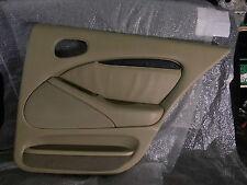 Jaguar S-Type CCX Türverkleidung Türpappe Beige Leder hinten rechts 4,0 V8 Jag