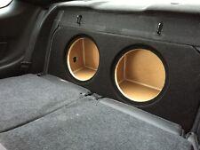 """ZEnclosures 2015+ Mustang 2-10"""" FRONT FIRE Subwoofer Sub Speaker Box (Blk,V2,FF)"""