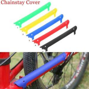 Cyclisme Vtt Vélo Chainstay Cadre Scratch Protection Autocollant Emplâtre