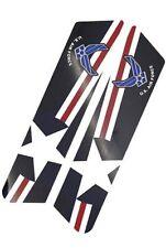 """Air Force"" - Saddlebag Delete Decal Inserts For Harley Police Models 08 - 14"