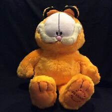 """Paws Garfield The Cat 25 Years Limited Edition 18"""" Plush Stuffed Animal"""