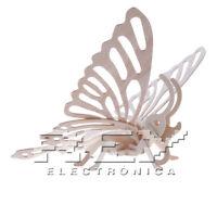Puzzle 3D Mariposa de Madera Juego Divertido Maqueteria Decoracion j62