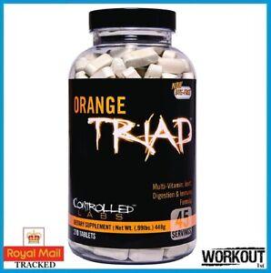 Controlled Labs Orange Triad 270 Caps Multi-Vitamin Joint Digestion Formula