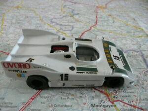PORSCHE 908/3 Ovoro n°15  Le Mans 1975 Ancien Kit John Day 1/43 défauts