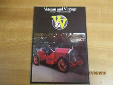 February 1979, VETERAN & VINTAGE, Victor Bruce, 1905 Gordon Bennett, Bill Owens.