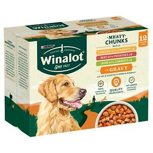 Winalot Dog Food Pouches Mixed in Gravy FREE NEXT DAY DELIVERY