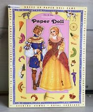 Paper Dolls Dress Up Game Prince Princess Coloring Book Paula Nizamas NEW