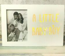 Boy LED Light Box Photo Frame White Photo 4x6 inches Box 27cm x 18cm x 2.8cm