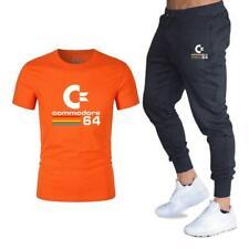 Nueva Camiseta Traje De Verano Pantalones para hombre de marca de ropa de dos piezas traje ropa deportiva Fas