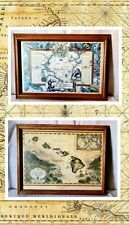 """Vtg """"Map Of The Sandwich Isles """" &  The Voyage Of Christopher Columbus pictures"""