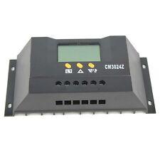 30A 12V/24V Intelligent Solar Charger Controller Panel Battery Regulator CM3024Z