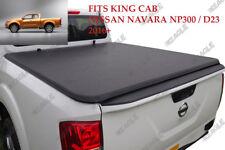 pour Nissan Navara NP300 D23 King Cab FLEXIBLE roulé Capote Couvre Benne