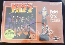 KISS PETER CRISS - 1998 DESTROYER MODEL KIT - NIB