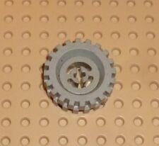 LEGO - Wheel with Split Axle hole, w/ Light Grey Tyre 30 x 10.5 (3482c04) TW113