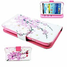 Protect Phone Stand Leather Pouch Cover Case For Samsung Galaxy Grand Duos i9082