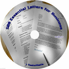 500 Better Business Letters cd Book MS Word Templates Sales Service New Plan