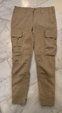 Ralph Lauren Sport Cargo Tactical Pants w/Zippered Legs Size 6