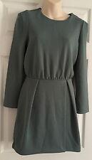 Women's LOVERLY GREEN  H&M Dress SIZE  EUR 36