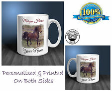 Morgan Horse Personalised Ceramic Mug: Perfect Gift. (HR20)