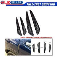 4X Car Door Edge Guard Strip Scratch Protector Anti-collision Carbon Fiber