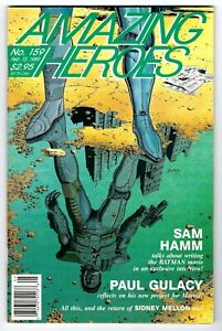 - -> AMAZING HEROES #159 ... 1989 .... Paul Gulacy