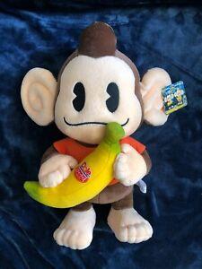 "Super Monkey Ball - AiAi Plush 15"" inch Japan 2002 - Brand New Official SEGA Tag"