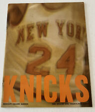 NEW YORK KNICKS 1974-75 Yearbook Media Guide NY