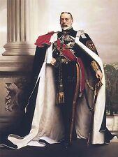 PAINTING PORTRAIT LANDER KING GEORGE V ENGLAND LARGE ART PRINT LF981