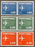 Portugal. Anniversary of T.A.P. Airlines. Pairs. SG1237/39 1963. MNH. (L31)