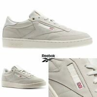 Reebok Classic CLUB C 85 MCC Shoes Sneakers Beige Grey CM9296 SZ 4-12.5