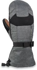 Dakine LEATHER SCOUT Mens Snowboard Ski Mitts Large Carbon NEW 2019 Sample