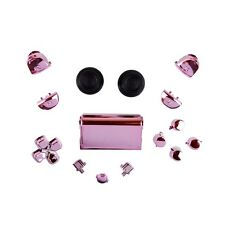 Sony PS4 Playstation 4 Full Button Set Chrom-Optik - Pink