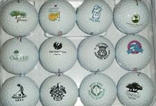 3 Dozen (Famous Golf Courses Logos) Mint Titleist Pro V1x Used Golf Balls