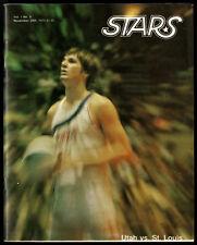 1975-76 ST LOUIS SPIRITS @ UTAH STARS ABA PROGRAM~LAST GAME IN FRANCHISE HISTORY
