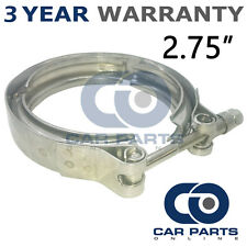 "V-BAND OUTER CLAMP STAINLESS STEEL EXHAUST TURBO HOSE RADIATOR 2.75"" 70mm"