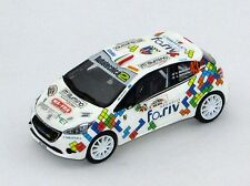 PEUGEOT 208 R2  MABELLINI-BELTRAME RALLY FRANCIACORTA 2017  DECALS 1/43