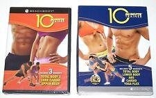 New Sealed BEACHBODY 10 Minute Trainer Set 3 DVD 5 Workouts Cardio Tony Horton