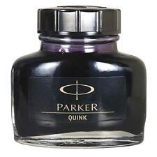 12 Bottles x Parker Quink Fountain Pen Ink Bottle 30ml   Black