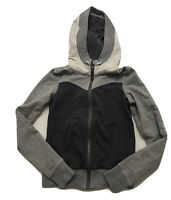 Lululemon Women's Gray Hooded Full Zip Jacket size 6 Orig.$128