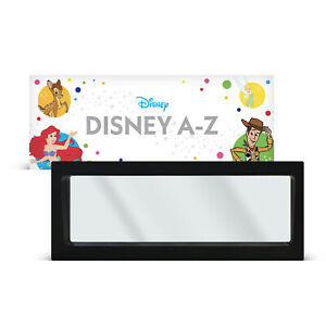 Medium Frame Designed to Fit Disney A-Z Collectible Coins