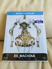Ex-Machina Blu-ray Steelbook, Mint/Sealed, French edition