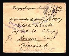 Germany 1917 POW Cover / KROPSTADT CDS - Z14443